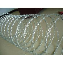 Hot-Dipped Galvanized Razor Barbed Wire