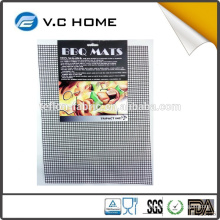 Hot sale online sales healthy easy to clean FDA certificate teflon BBQ grill mesh mat