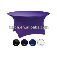 lycra/spandex table cloth,used banquet table cloth,fit for all of kinds of tables