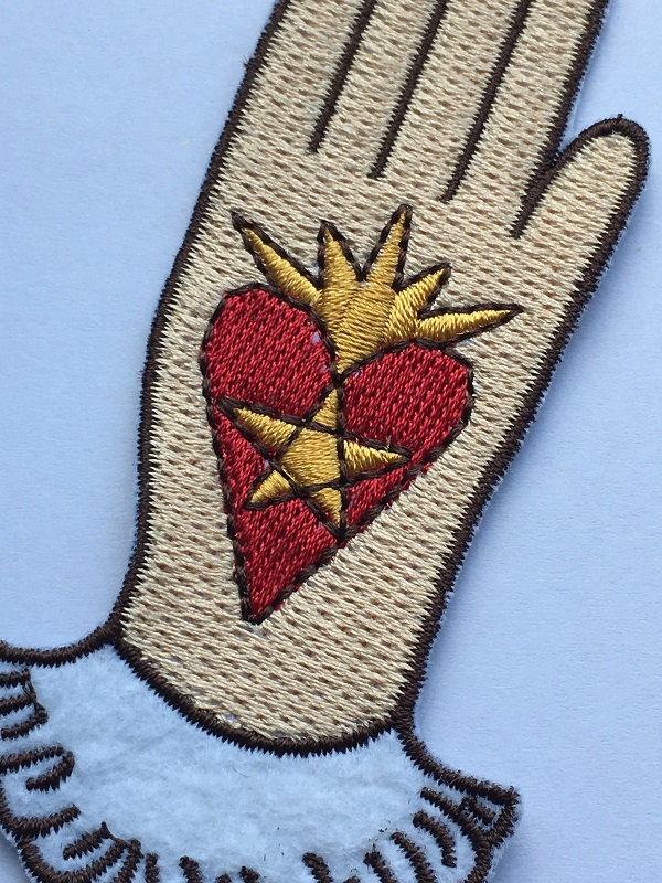 Love Patch Embroidery