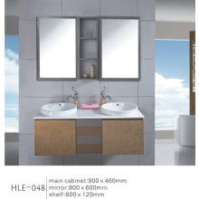 Mirrored Vanity Stainless Steel Bathroom Furniture with Good Quality