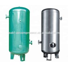 Receptor de aire de acero al carbono industrial de 1 bar para compresor de tornillo de aire