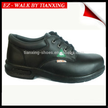 GENUINE LEATHER SAFETY CSA PROVED SAFETY SHOES WITH PU SOLE