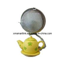 Skulptur Tee Topf Tee Infuser, Stainess Stahl Tee Ball Infuser
