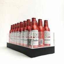 High Quality Custom Acrylic Beer Wine Liquor Bottle Display with LED Light