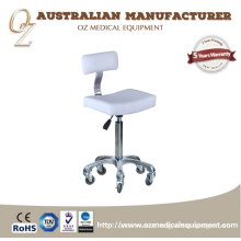 Beauty Salon Furniture High Quality Stool Write Color Doctor Stool Massage Spa Chair Massage Stool Salon Furniture Specific Use and Synthetic   Leather Material Massage High Quality Stool Chair