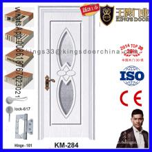 Porte en bois de PVC de salle de bains