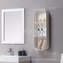 black hotel bathroom shower accessory wall mount rack storage corner shelf