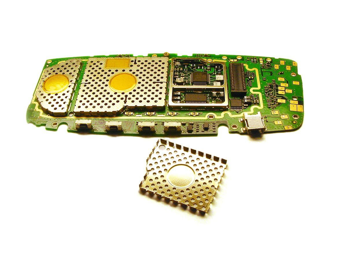 EMI metal shielding