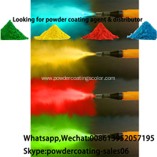 electrostatic spray interior hybrid powder coating