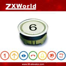Interrupteur de pression à bouton-poussoir d'ascenseur de conception européenne de CHINESE ELECTRIC SUPPLIER
