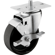 Medium Duty Kingpin Wheels with Brake