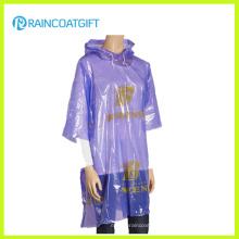 Impresión promocional completa Festival PE Poncho de lluvia