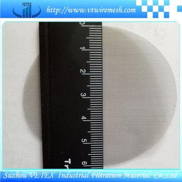 Discos filtrantes de acero inoxidable resistentes al calor