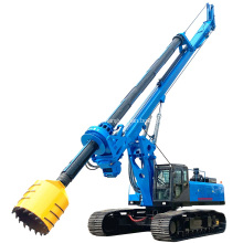 Недорогая гидравлическая буровая установка для роторного бурения глубиной 60 м