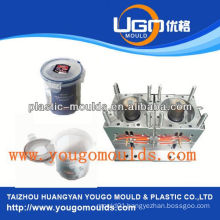 plastic injection fruit basket mould plastic container injection mould