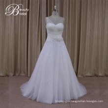 Factory Outlet Tank Top One Shouler Wedding Dress