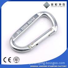Steel hooks with screw nuts