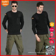 2017 Estilo militar vendedora caliente del cuello del suéter o del suéter militar del cuello