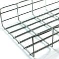 Bandeja portacables de acero galvanizado tipo malla.