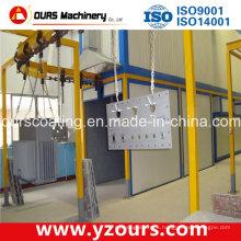 CE SGS Paint Spraying Line / System para exportar