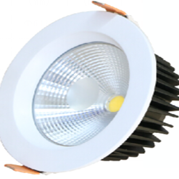 Espetacular Downlight LED embutido de 10W