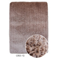 100% Polyester Microfiber Shaggy Rug Plain Color