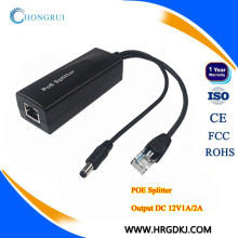 HRUI poe splitter 12v for IP camera ,AP,IP phone