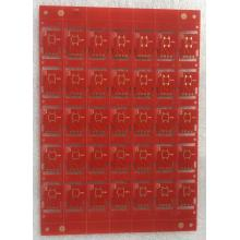 2 layer 0.8mm red solder PCB
