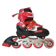 PVC Whells Carton Red Inline Skate