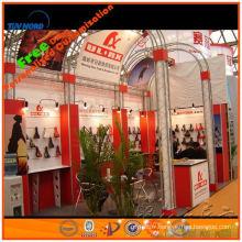 nouveau produit attirant l'art, présentoir expo modulaire et portatif, fournisseur d'or de Changhaï