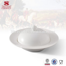 Белый керамический dinnerware фарфора керамические формы супница