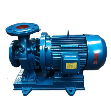 ISW electric pipeline pressure water lifting pump