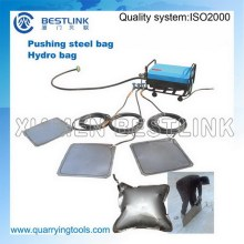 Quarrying Use Stone Block Push Down Tools Steel Hydro Bags