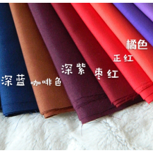 TC 65 35 Woven Poplin Dyed Shirting Fabric