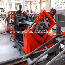 Galvanized Steel Grain bin silo vertical stiffener machine
