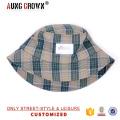 Sombreros del cubo de la promoción / sombrero y casquillo comprobados del cubo del patrón