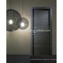 Puerta interior de PVC de alta calidad