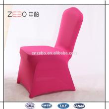 La tela vendedora más barata del Spandex Cubiertas baratas baratas de la silla de lino en Guangzhou