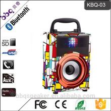 горяч-продавая КБК-03 небольшой портативный динамик Bluetooth встроенный 600mah аккумулятор
