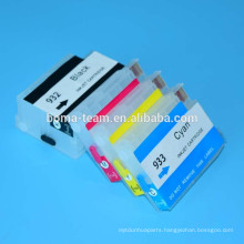 4 color refill ink cartridge for HP Officejet 6100 6600 6700 7610 7110 7612 printer for HP 932 933
