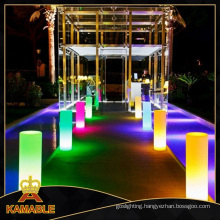 Decoration Waterproof LED Cylinder Floor Lamp (F007)