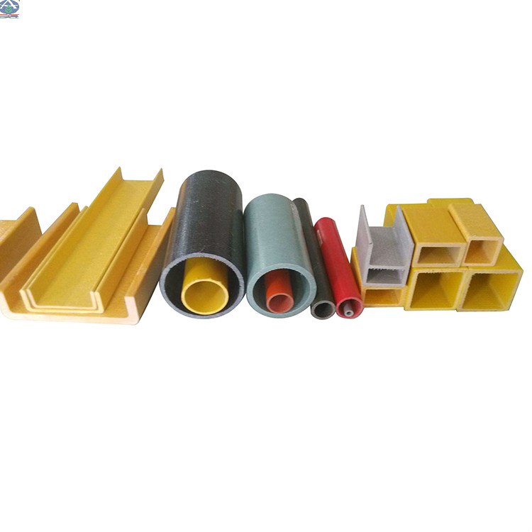 Anti-karat FRP Rectangular Tube Fiberglass Square Tubes