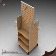 Good Quality for Tools Metal Display Rack Stable Wooden Trough Plate Tools Display Stand supply to Malaysia Exporter