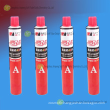 Aluminum Collapsible Tube for Ab Rubber