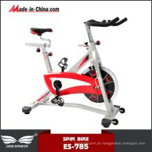 Bicicleta estacionária giratória de grande capacidade comercial de luxo