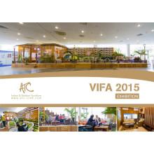 Vietnam Vifa Messe 2015 Patio Rattan Möbel Fabrik