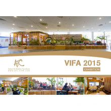 Vietnam Vifa Fair 2015 Fabrication de meubles en rotin patio
