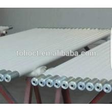 Toho venda quente Melhor qualidade Alta temperatura tubo de rolo de cerâmica tubos hastes