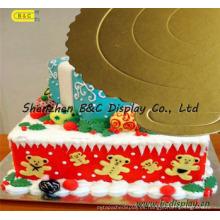 Tablero de papel con laminación de aluminio para pastel, tartas de pastel, tambores de tarta con SGS (B & C-K029)